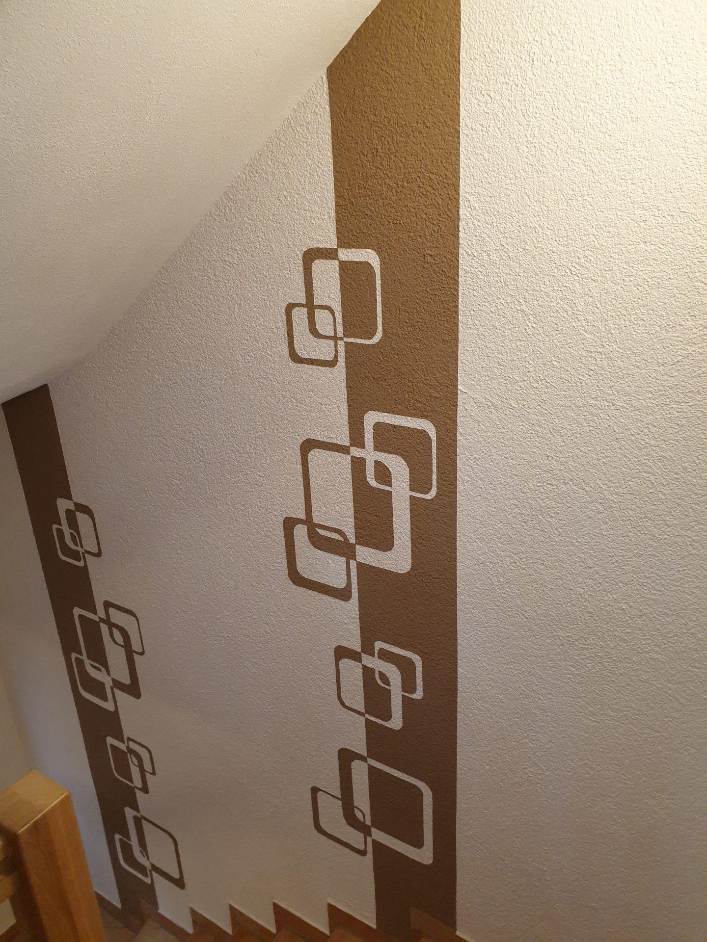 Individuelle gestaltung eines Treppenhauses